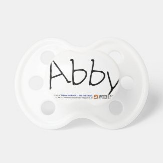 Baby Abby Pacifier