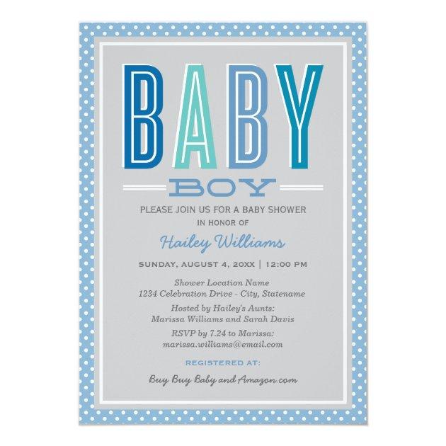 Baby Boy Shower 748763
