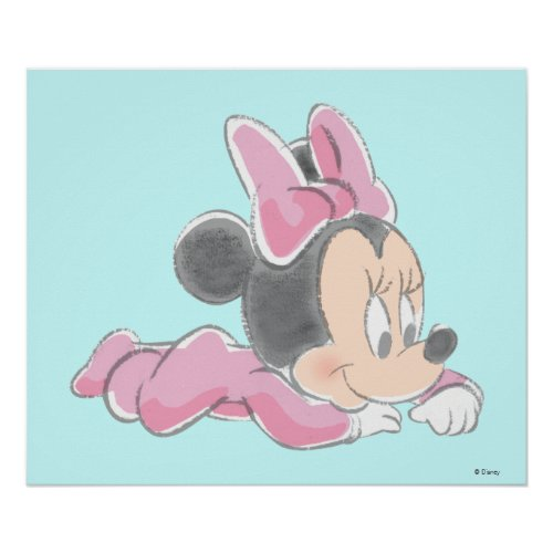 Baby Minnie Mouse Poster