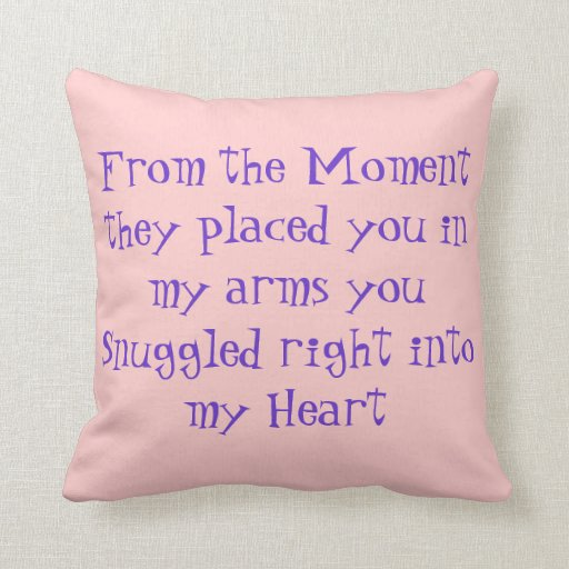 Quotes For Baby Pillows. QuotesGram
