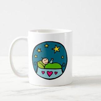 Baby Reaching for the Stars mug