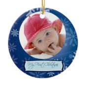 Baby's First Christmas Ornament ornament