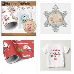 Baby's First Christmas Personalized Gifts - SALES!