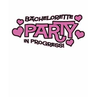 Bachelorette Party Hearts T-Shirt shirt