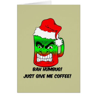 Bah Humbug Cards Zazzle