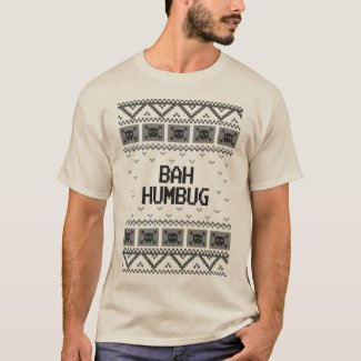 Bah Humbug Ugly Christmas Sweater Shirt