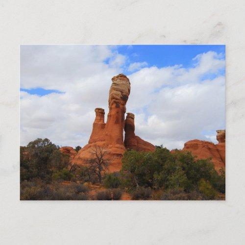 Balanced Rock, Arches National Park, Utah, Postca postcard