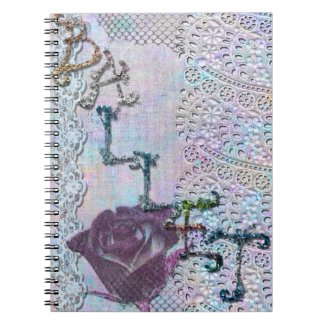 Ballet in Glitter and Lace Notebook