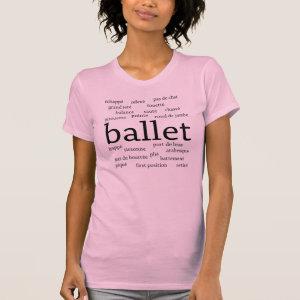 Ballet Words T-Shirt