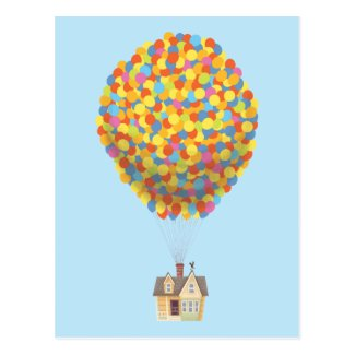 Balloon House from the Disney Pixar UP Movie