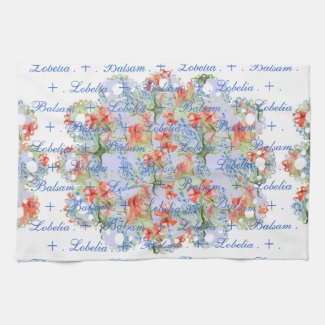 Balsam and Lobelia Lace Towel mojo_kitchentowel