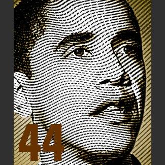Barack Obama 44th US President - Customized shirt