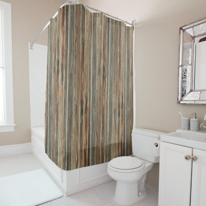 barn wood print rustic country western shower shower curtain zazzle com