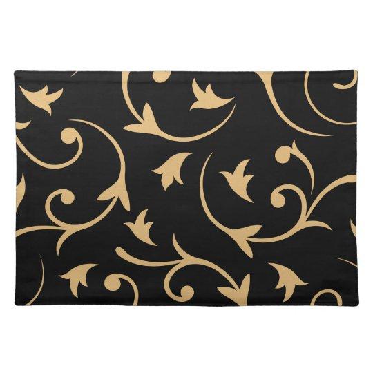 baroque large design black