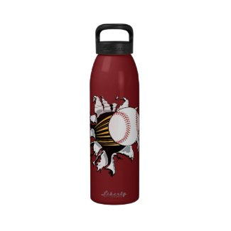 Baseball Burster Water Bottle