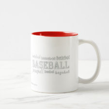 Baseball in Any Language Mug