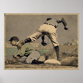 Baseball Poster Memorabilia