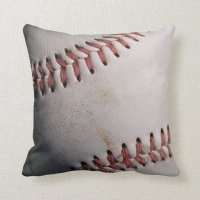 Baseball Sports Ball Pillow | Zazzle