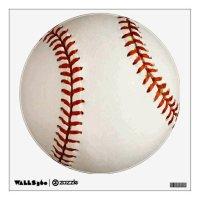 Baseball Wall Decal | Zazzle