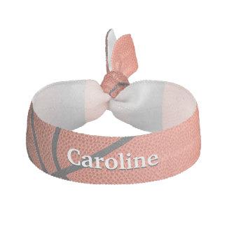 basketball hair ties & ribbons