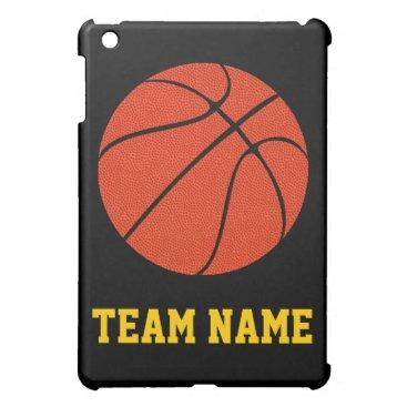 Basketball Coach or Player Custom Team Name Sports Case For The iPad Mini
