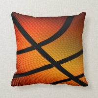 Basketball Throw Pillow | Zazzle