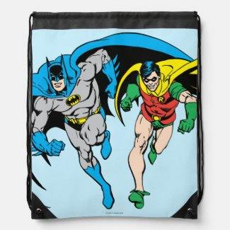 Batman & Robin Cinch Bag