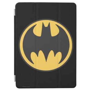Batman Symbol   Dark Yellow Circle Logo iPad Air Cover