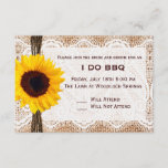BBQ and Breakfast Wedding RSVP