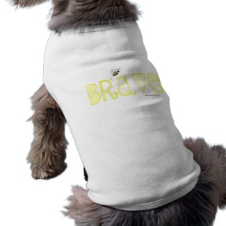 Be Brave - A Positive Word petshirt