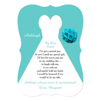 Blue Aqua Wedding Invitations With Brick Pattern Envelope Liner