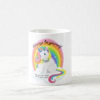Be Yourself, Be a Unicorn Drinking Mug