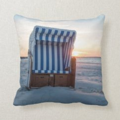 Beach Chair Pillow With Strap Teak Shower Chairs Arms Pillows Decorative Throw Zazzle