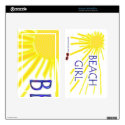 Beach Girl Sun - Kindle Fire Skin