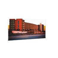 Beach Resorts in Daytona Beach Florida Landscape A Canvas Prints