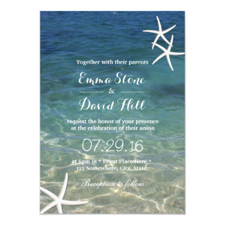 Beach Theme Wedding Invitations In A Bottle