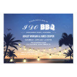 Fun I Do Beach Sunset BBQ Invitation