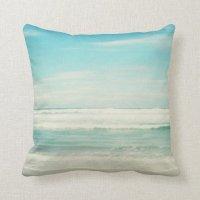 Beach Throw Pillow | Zazzle