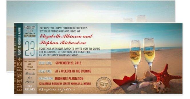 Informal Wedding Invitation Wording No Pas