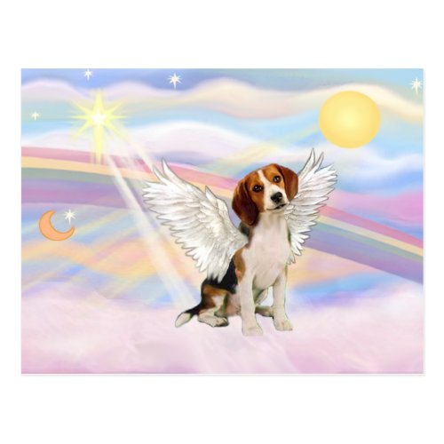 Beagle Angel Postcard