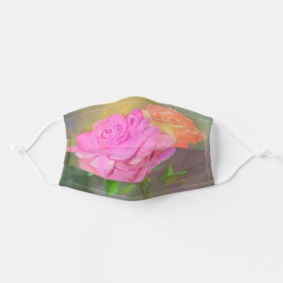 Beautiful Floral Cloth Face Mask from AbuNana.com