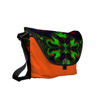 Beautiful Fractal/kaleidoscope Messenger Bags