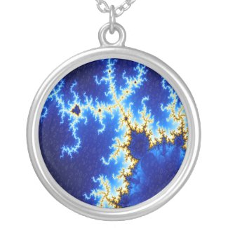 Beautiful Numbers - Fractal Necklace necklace