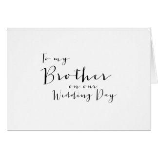 Brother of the Groom Gifts, Custom Gift Ideas