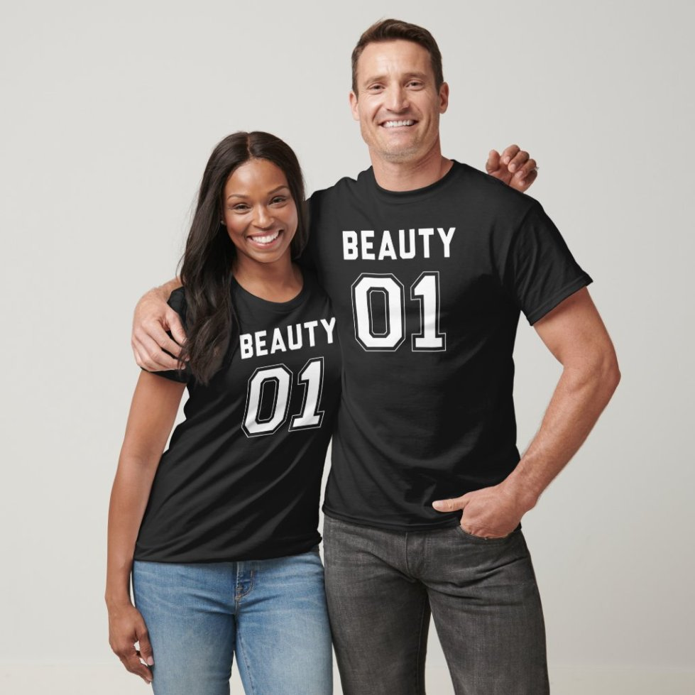Beauty and The Beast Couple T-Shirt