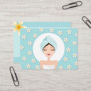 cartoon spa woman gifts