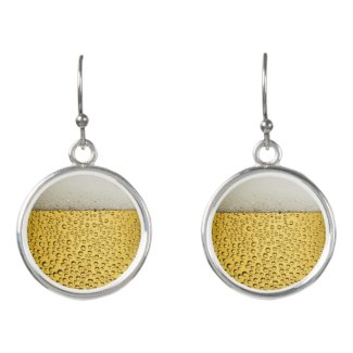 Beer Glass Earrings