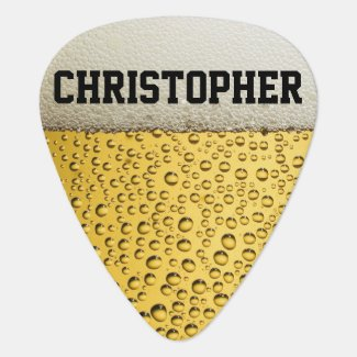 Beer Glass Personalize Guitar Pick