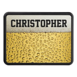 Beer Glass Personalize Hitch Cover
