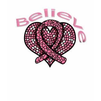 Believe Breast Cancer shirt